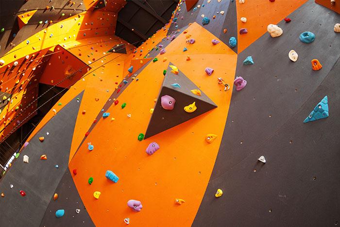 Realizzazione strutture d'arrampicata